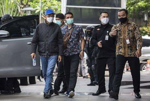 Nurdin Abdullah ditangkap