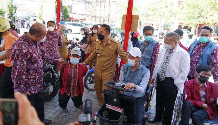 Universitas Muhammadiyah Surabaya Ciptakan Kursi Cerdas Bagi Disabiltas